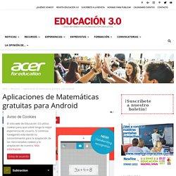 Aplicaciones de matemáticas gratuitas para tu Android