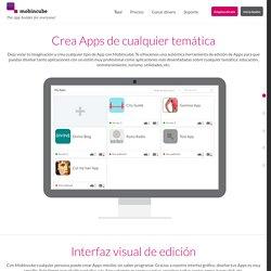 Aplicaciones móviles GRATIS con Mobincube. El mejor creador de apps