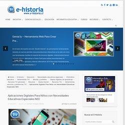 Aplicaciones Digitales Para Niños con Necesidades Educativas Especiales NEE