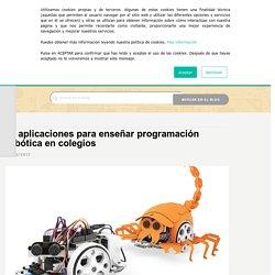 10 aplicaciones para enseñar programación robótica en colegios – Bejob