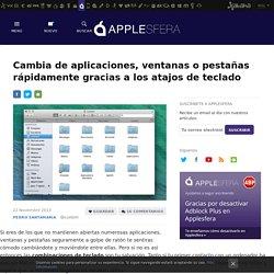 Cambia de aplicaciones, ventanas o pestañas rápidamente gracias a los atajos de teclado