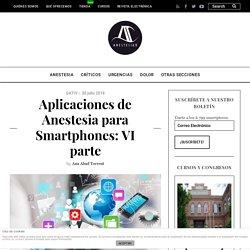 Aplicaciones de Anestesia para Smartphones: VI parte - AnestesiaR