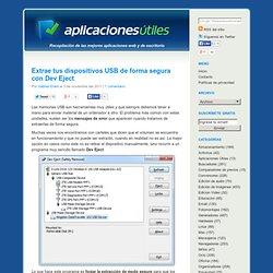 Aplicaciones Útiles - Aplicaciones Útiles