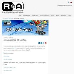 Aplicaciones Útiles – QR Code Apps
