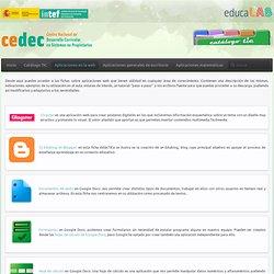 Aplicaciones en la web