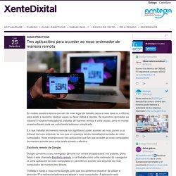 Tres aplicacións para acceder ao noso ordenador de maneira remota - Xente Dixital