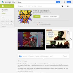 Comic Strip It! (lite) - Aplicacions d'Android a Google Play