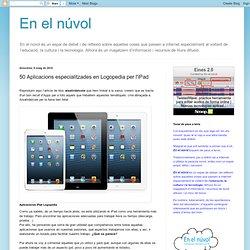 50 Aplicacions especialitzades en Logopedia per l'iPad