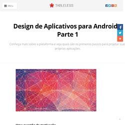 Design de Aplicativos para Android - Parte 1