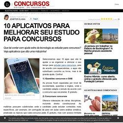 10 aplicativos para melhorar seu estudo para concursos