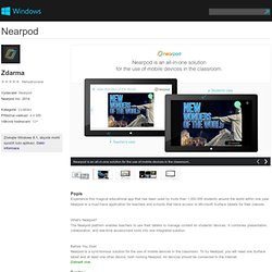 Aplikace Nearpod pro Windows ve Windows Store