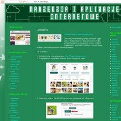 Narzędzia i aplikacje internetowe: LoonaPix