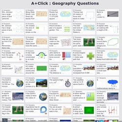 AplusClick Math Questions: Geography
