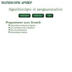 Algo par l'APMEP 2 (mathscope)