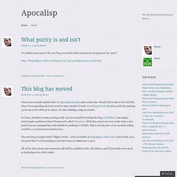 Apocalisp | The end of programming as you know it