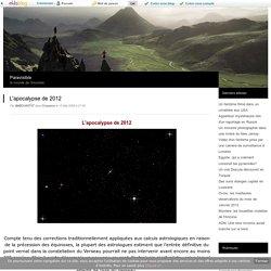 L'apocalypse de 2012 - Paravisible