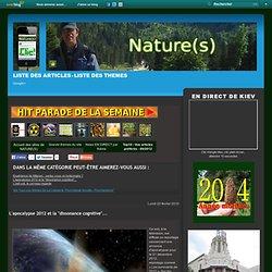 """L'apocalypse 2012 et la """"dissonance cognitive""""..."""