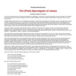 The (First) Apocalypse of James
