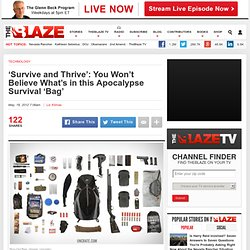 Uncrate Lists 'Bug-Out Bag' With Everything Needed for Apocalypse Survival 'Stuffed Into One Bag'