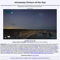 2011 July 4 - Southern Ocean Sky