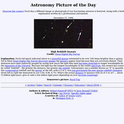 December 11, 1998 - High Redshift Quasars