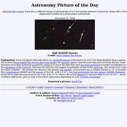 December 11, 1998 - High Redshift Quasars