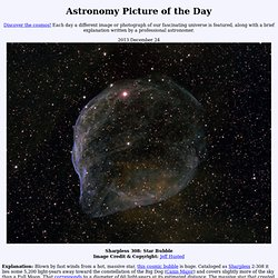 2013 December 24 - Sharpless 308: Star Bubble