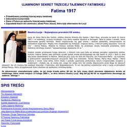 www.apokalipsa.info.pl + Sekret Trzeciej Tajemnicy Fatimskiej