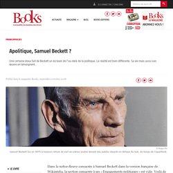 Apolitique, Samuel Beckett ?
