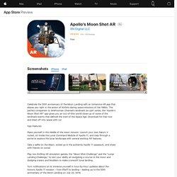 Apollo's Moon Shot AR on the AppStore