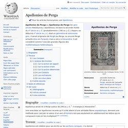 Apollonios de Perga