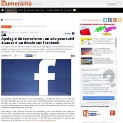 Apologie du terrorisme : un ado poursuivi à cause d'un dessin sur Facebook