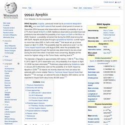 99942 Apophis