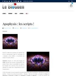 Apophysis : les scripts !