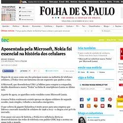 Aposentada pela Microsoft, Nokia foi essencial na história dos celulares - 04/11/2014 - Tec