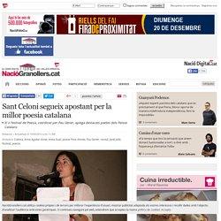 NacióGranollers.cat: Sant Celoni segueix apostant per la millor poesia catalana