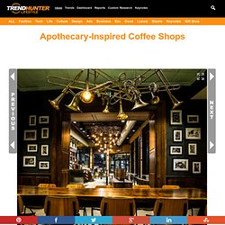 Apothecary-Inspired Coffee Shops : new orleans starbucks
