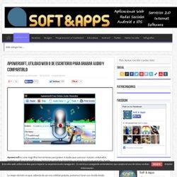 Apowersoft, utilidad web o de Escritorio para grabar audio y compartirlo