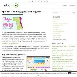 App per il coding, guida alle migliori