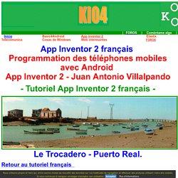 App inventor 2 français Tutoriel