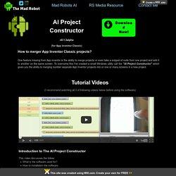 App Inventor Merger tool