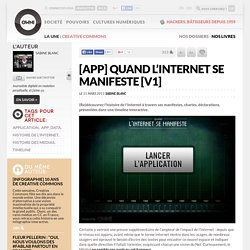 [App] Quand l'Internet se manifeste [V1] » Article » OWNI, Digital Journalism