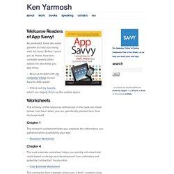 App Savvy - Ken Yarmosh