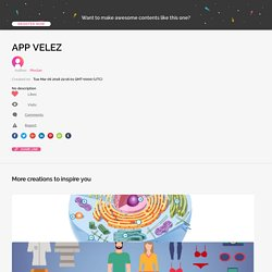 APP VELEZ by Pinclan on Genial.ly