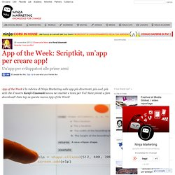 App of the Week: Scriptkit, un'app per creare app!