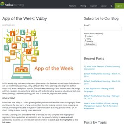 App of the Week: Vibby