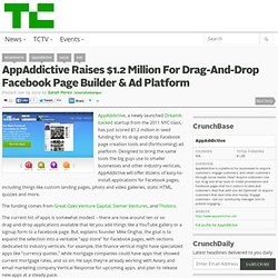 AppAddictive Raises $1.2 Million For Drag-And-Drop Facebook Page Builder & Ad Platform