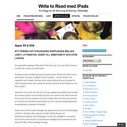 Write to Read med iPads