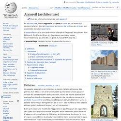 Appareil (architecture)
