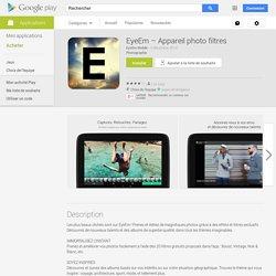 EyeEm: Camera & Photo Filter